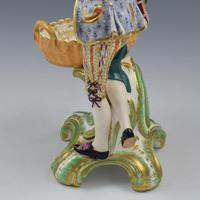 Fine Pair Minton Porcelain Sweetmeat Figures with Baskets Models 84 & 85 c.1830 (22 of 23)