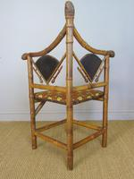 Rare Victorian Aesthetic Chair by Jas Shoolbred (3 of 10)