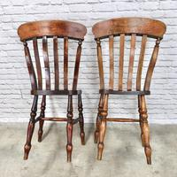 Pair of Windsor Latheback Side Chairs (5 of 5)