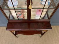 Inlaid Mahogany Display Cabinet by Shapland and Petter (15 of 21)