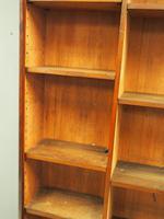 Victorian Mahogany Open Bookcase (7 of 11)