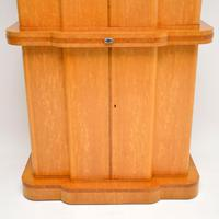 Art Deco 1920's Burr Maple & Walnut Cocktail Cabinet (7 of 13)