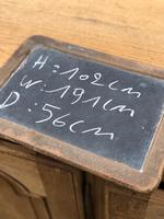French Bleached Oak Dresser Base (8 of 12)