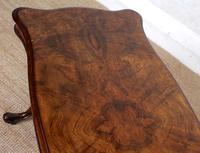 Walnut Writing Table Desk 19th Century Victorian (6 of 9)