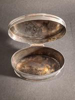 George V Silver Oval Box (2 of 5)