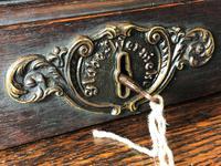 Original Edwardian Globe Wernicke Oak Roll Top Desk (6 of 13)