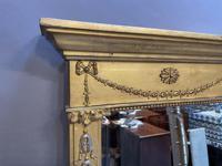 19th Century Gilt Overmantle Mirror (5 of 5)