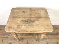 Antique Oak & Pine Farmhouse Table (7 of 8)