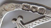 Edwardian 1901 Hallmarked Solid Silver Nurses Belt Buckle Charles W Comyns (5 of 7)