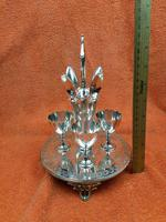 Antique Silver Plate 4 Piece Egg Cruet Set C1880's Cooper Brothers 656 (5 of 12)
