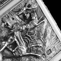Rare Antique Georgian Solid Silver Mazeppa Snuff Box - Edward Smith 1836 (20 of 23)