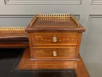 Edwards & Roberts Inlaid Mahogany Writing Desk (4 of 20)