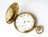 1930s Buren Full Hunter Pocket Watch (2 of 6)