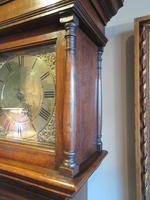 Small George II Period Antique Cottage Longcase Clock (3 of 8)