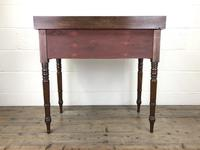 Antique Victorian Mahogany Ladies Writing Desk (2 of 17)
