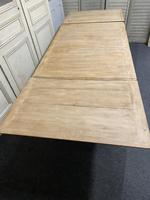 French Bleached Oak Extending Dining Table (7 of 17)