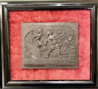 Interesting Set of Twelve Welsh Slate Hand-Carved Plaques (8 of 17)