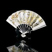 Vintage Japanese Solid Silver Fan Sensu/o-gi c.1960 (2 of 14)