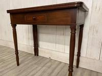 Victorian Fold Over Tea Table (7 of 7)