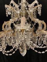 10 Light Italian Marie Theresa Antique Chandelier (13 of 14)