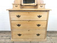 Antique Pine Dressing Table Chest with Drawers (3 of 10)