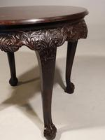 Well Carved Late 19th Century Oriental Centre Table (5 of 6)