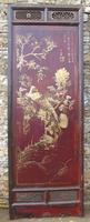 Impressive Pair of Chinese Chinoiserie Lacquered Panels (5 of 10)