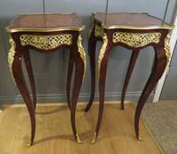 Stunning Pair of French Side Tables Gueridons (7 of 8)