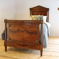 French Empire Style Mahogany Antique Bed (4 of 7)
