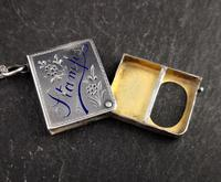 Victorian Silver Stamp Case Pendant (7 of 11)