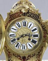 French Napoleon III Boulle Mantel Clock by Japy Freres (3 of 11)