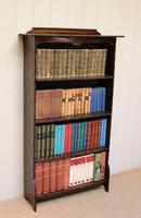 Dark Oak Open Bookcase (5 of 11)