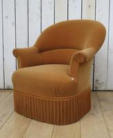 Pair Of French Crapaud Tub Armchairs (4 of 8)