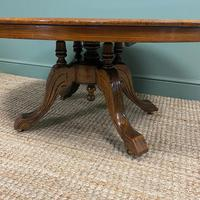 Spectacular Inlaid Walnut Antique Coffee Table (4 of 7)
