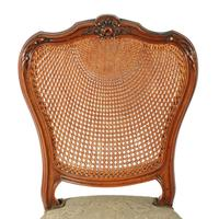 Two Walnut Bergére Salon Chairs (5 of 8)