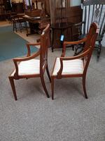 Edwardian Pair of Chairs (4 of 6)