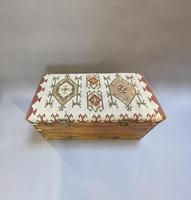 19th Century Campaign Camphor Chest Seat (6 of 13)