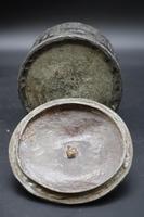 Very Good Mid 19th Century Lead Tobacco Box (5 of 5)