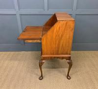 Very Good Queen Anne Style Burr Walnut Bureau (18 of 18)