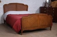 Nice Simple Louis XV Style Caned King Size Bed (2 of 7)