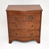 Small Antique Mahogany  Chest of Drawers (2 of 12)