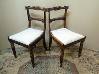 Set of 6 William IV Rosewood Dining Chairs (6 of 9)