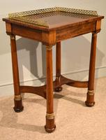 French Regency Rosewood Side Table (4 of 6)