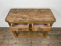 Reclaimed Wooden Sideboard with Two Drawers (6 of 10)