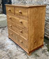 Antique Pine Chest of Drawers (17 of 17)