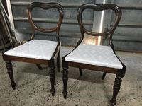 Pair of Beautiful Victorian  Rosewood Chairs (6 of 7)