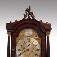 Antique Mahogany Longcase Clock (10100) (10 of 12)