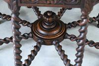 Victorian Octagonal Centre Table (11 of 12)