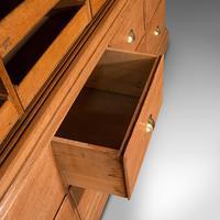 Very Large Antique Haberdashery Cabinet, Oak, Collector, Shop, Rack, Edwardian (10 of 12)