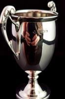 Vintage Sterling Silver Trophy Cup, Art Deco (5 of 9)